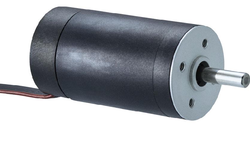 Kompakta motorer för ventilatorer och respiratorer, BRC med ingegrerad styrelektronik