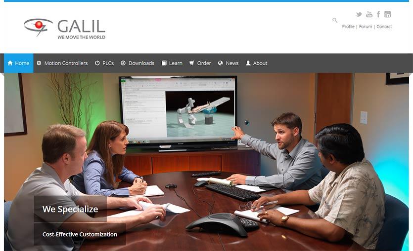 Galil webinar