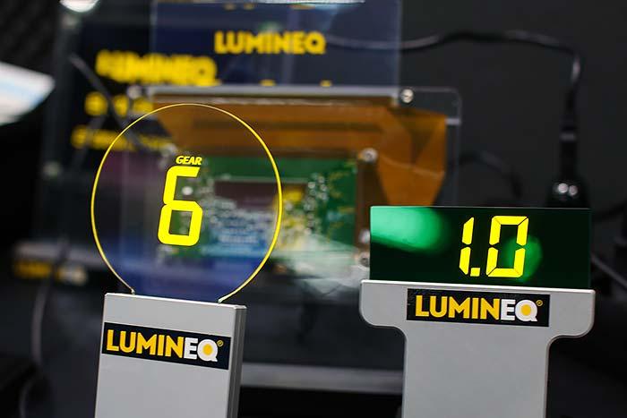 Transparenta displayer från Lumineq