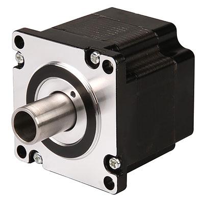 Hybridstegmotor med hålaxel