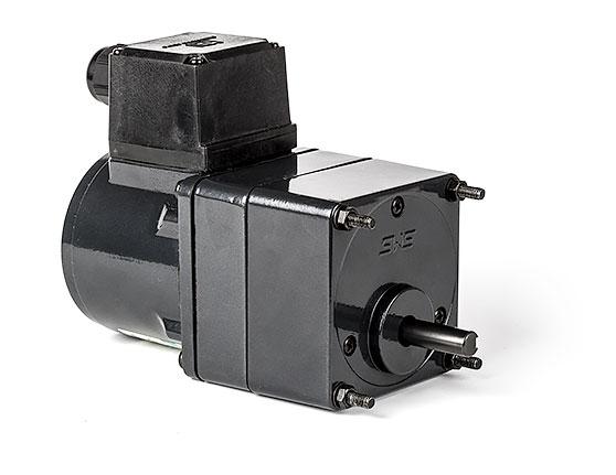 AC induktionsmotor med växel