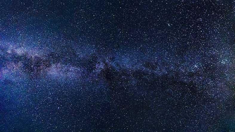 stjärnor på natthimmel