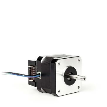 Hybridstegmotor med encoder (pulsgivare)