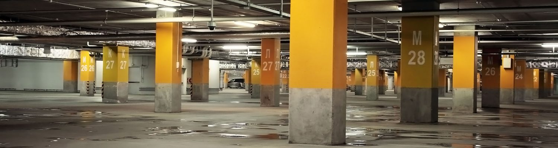 garage med mikrovågssensorer